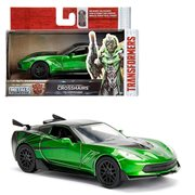 Transformers The Last Knight Crosshairs Chevy Corvette 1:32 Scale Die-Cast Metal Vehicle