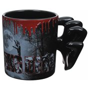 The Walking Dead Zombie Hand Ceramic Molded Mug, Not Mint