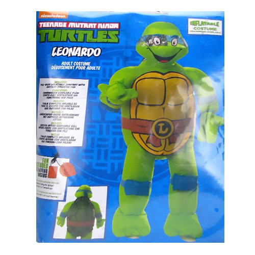 Teenage Mutant Ninja Turtles Classic Leonardo Air-Blown Costume