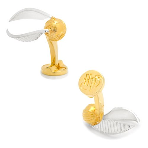 Harry Potter 3D Golden Snitch Cufflinks
