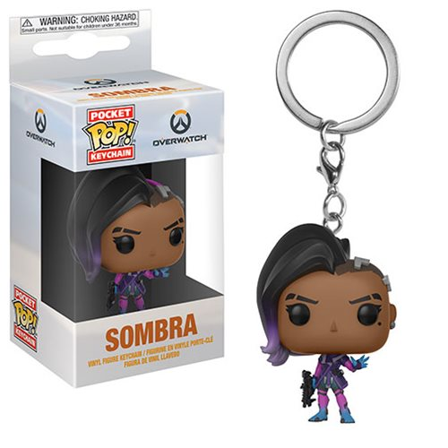 Overwatch Sombra Pocket Pop! Key Chain