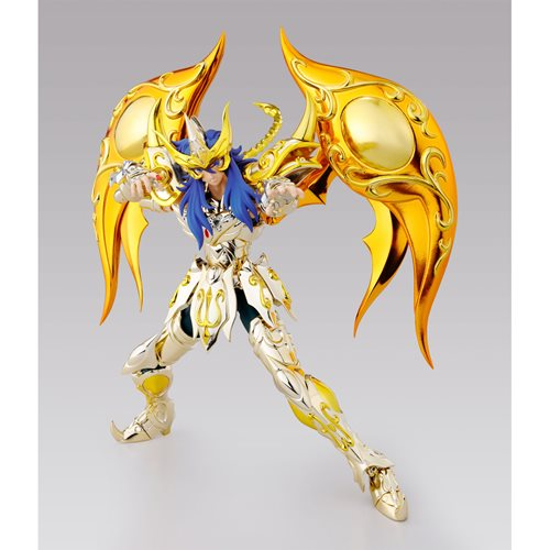 Saint Seiya Soul of Gold Scorpio Milo God Cloth Saint Cloth Myth EX Action Figure