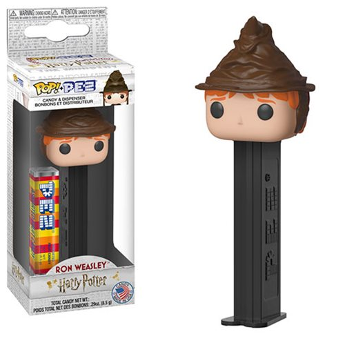 Harry Potter Ron Weasley Sorting Hat Pop! Pez