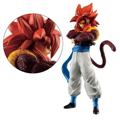 Dragon Ball Dokkan Battle Super Saiyan 4 Gogeta Ichiban Statue
