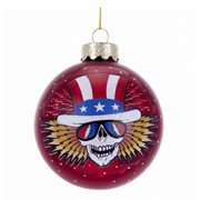 Grateful Dead 4 1/4-Inch Glass Ball Ornament