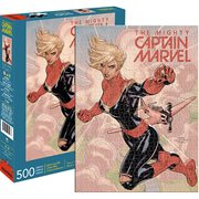 Captain Marvel Cover 500-Piece Puzzle