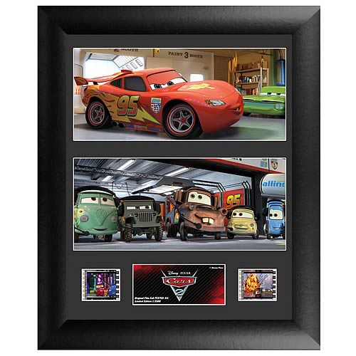 Cars 2 Series 4 Double Film Cell