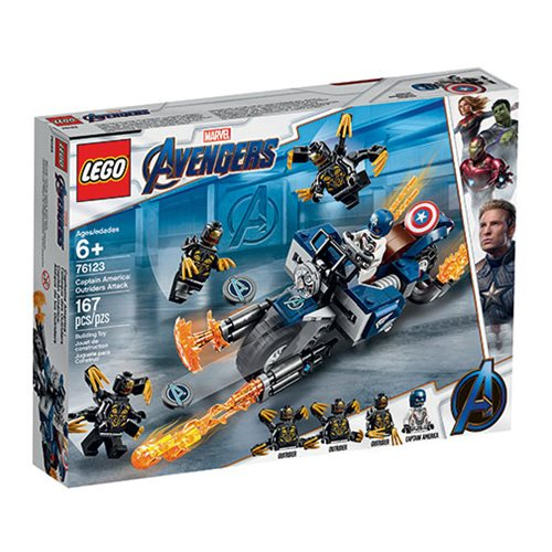 LEGO 76123 Marvel Super Heroes Captain America: Outriders Attack