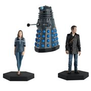 Doctor Who Collection Companion Set #10 8th Doctor and Liv Chenka with Time Controller Dalek Figures