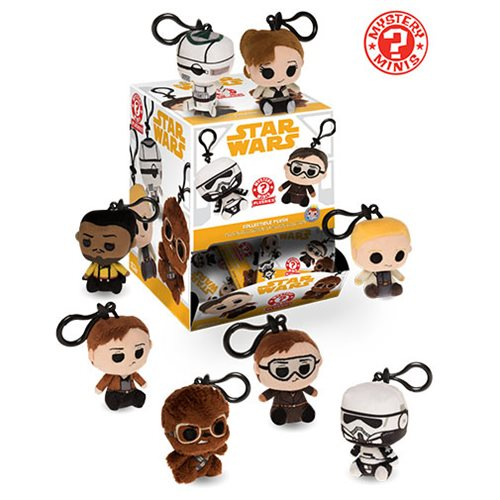 Star Wars Solo Mystery Minis Plush Key Chain Random 6-Pack