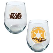 Star Wars Defend the Empire 21 oz. Stemless Wine Glass