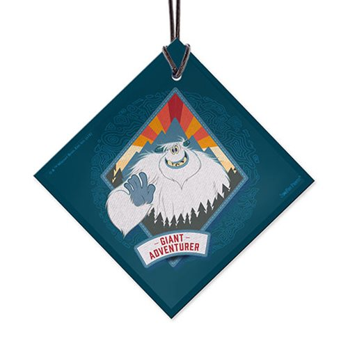 Smallfoot Giant Adventurer StarFire Prints Hanging Glass Ornament