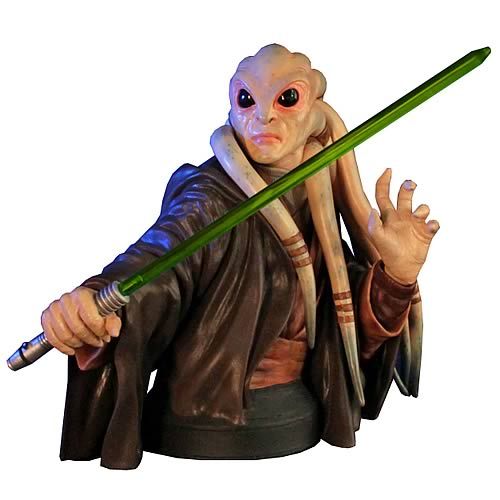 Star Wars Kit Fisto Mini Bust