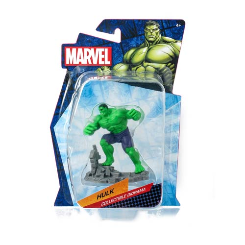 Hulk Marvel Heroes Collectible Diorama Mini-Figure