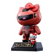 Hello Kitty Gundam Char's Zaku II Chogokin Action Figure