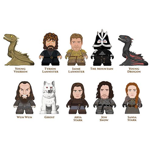 Game of Thrones Seven Kingdoms Titans - 18 Mini-Figures