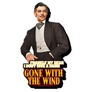 Gone With The Wind Quote Funky Chunky Magnet