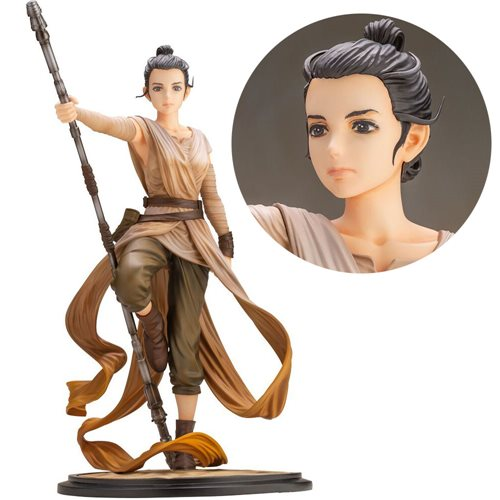 Star Wars: The Force Awakens Rey Descendant of Light Artist Series ARTFX Statue