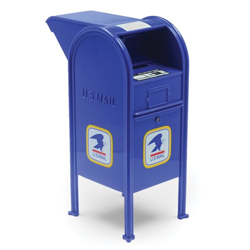 USPS Vintage Logo Mail Dropbox Replica with Snorkel Coin Bank
