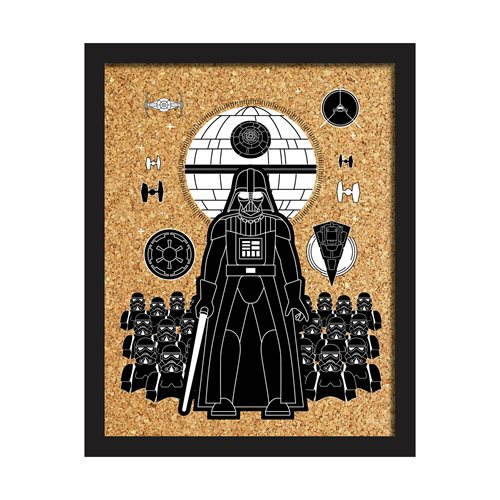 Star Wars Darth Vader Quote Cork Wall Art