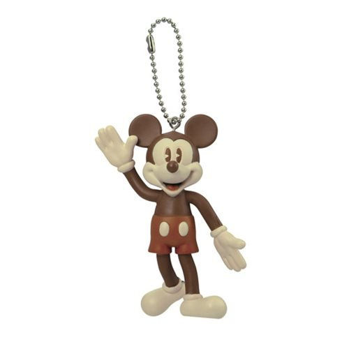 Mickey Mouse Vintage Bendable Key Chain