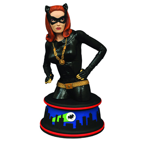 Batman 1966 TV Series Catwoman Mini-Bust - Previews Exclusive