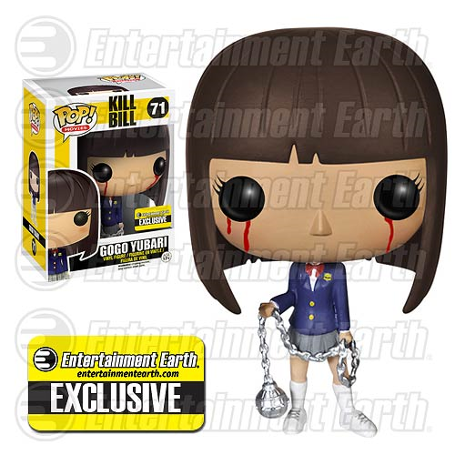 Kill Bill Bloody Gogo Yubari Pop! Movies Vinyl Figure - Entertainment Earth Exclusive
