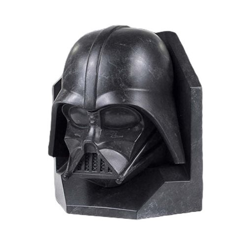 Star Wars Darth Vader STONEWORKS Faux-Marble Bookend