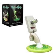 Rick and Morty Portal Gun Tabletop or Wall Light