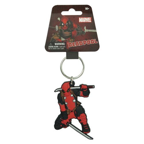 Deadpool Classic Soft Touch Key Chain