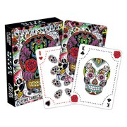 Day of the Dead Sugar Skulls Playing Cards