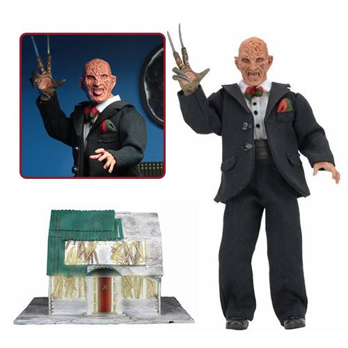 Nightmare on Elm Street Tuxedo Freddy 8-Inch Cloth Action Figure
