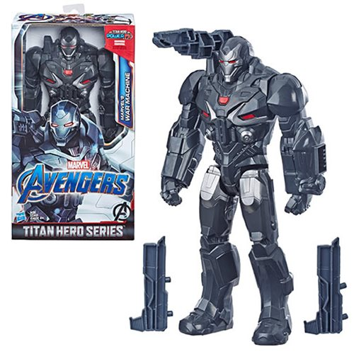 Avengers: Endgame Titan Hero Marvel's War Machine 12-Inch Action Figure, Not Mint