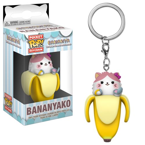 Bananya Bananyako Pocket Pop! Key Chain