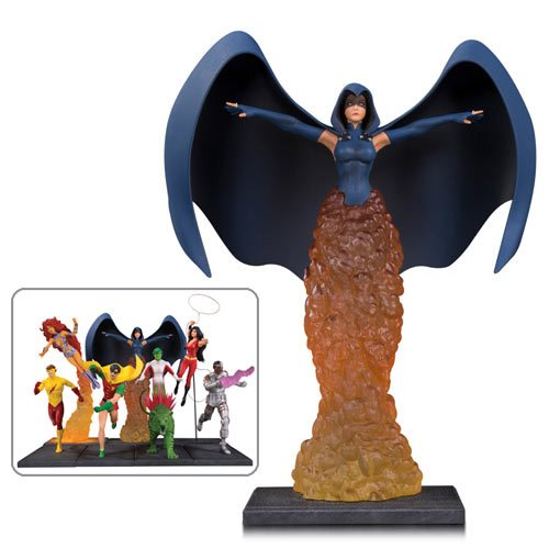 The New Teen Titans Raven Multi-Part Statue