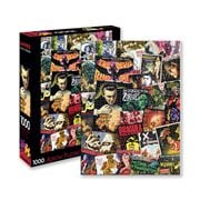 Hammer Horror Classic Movies Collage 1,000-Piece Puzzle