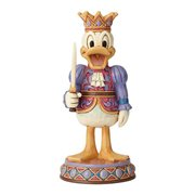 Disney Traditions Donald Duck Nutcracker Reigning Royal Statue by Jim Shore