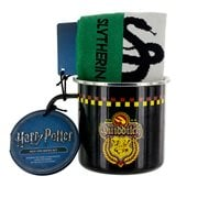 Harry Potter Slytherin Quidditch Tin Mug and Sock Gift Set