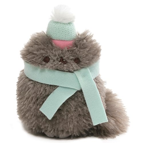 Pusheen the Cat Winter Pip 4 1/2-Inch Plush