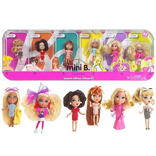 Barbie My Favorites Mini B Dolls Gift Set 1