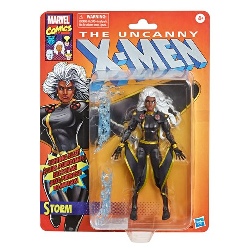 X-Men Retro Marvel Legends 6-Inch Black Outfit Storm Action Figure - Exclusive