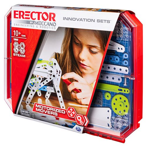 Erector by Meccano Set 5 Motorized Movers Building Kit