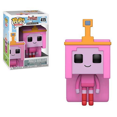 Minecraft: Adventure Time Princess Bubblegum Pop! Vinyl Figure