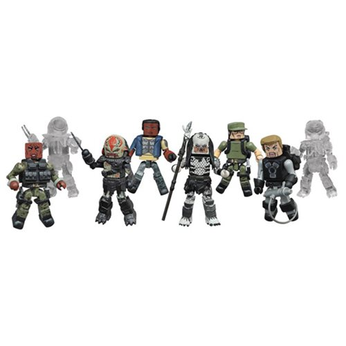 Predator Series 2 Minimates Blind Bag Random 6-Pack