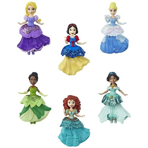 Disney Princess Small Doll Clips Wave 3 Case