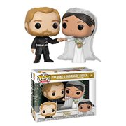 Royals Duke and Duchess of Sussex Pop! Vinyl 2-Pack, Not Mint