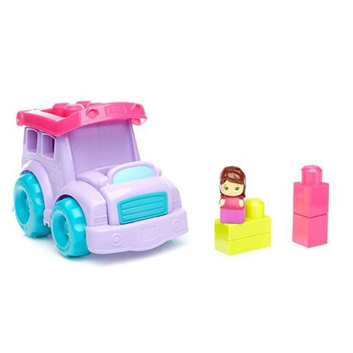 Mega Bloks School Bus Purple