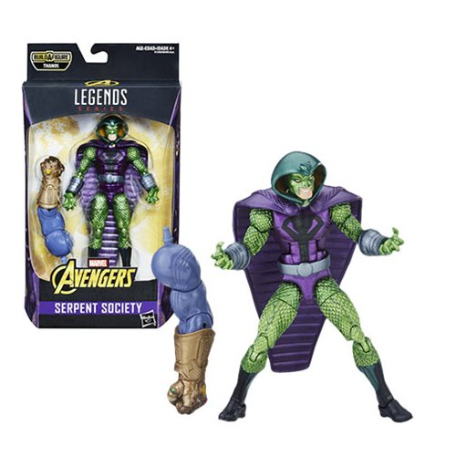 Avengers Marvel Legends Series 6-inch Serpent Society Action Figure