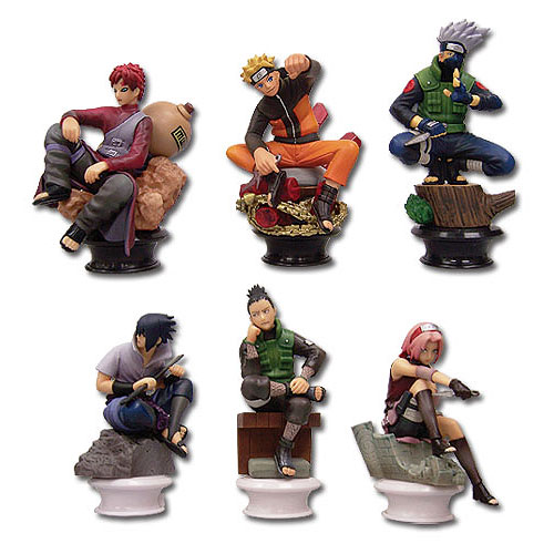 Naruto Shippuden Vol.1 Chess Piece Collection Random  6-Pack