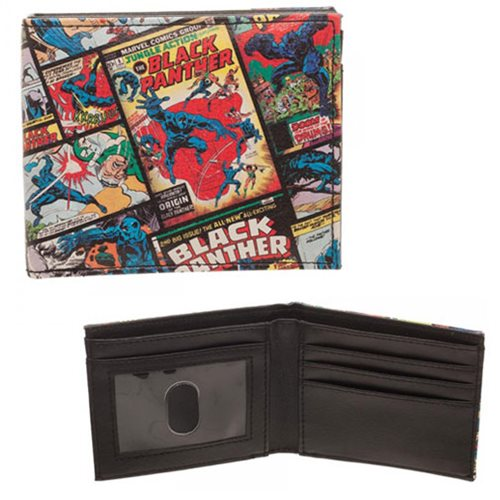 Black Panther Comic Bi-Fold Wallet
